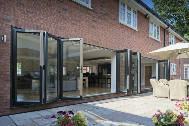 bi-fold doors in Hampshire