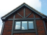 Custom coloured UPVC bargeboards
