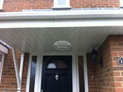 Tongue and groove soffit