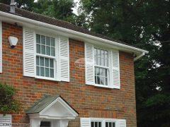 white fascias soffits guttering replacement Slough