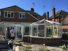 Removal of existing conservatory roof