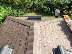 Tiled conservatory roof installed by The Fascia Division