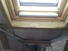 Velux roof window with roller shutters
