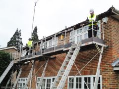 The Fascia Division replacing new fascias soffits guttering using EasiDec access system