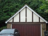 White upvc bargeboards soffit installation in Beaconsfield