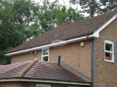 White upvc fascias and soffits replaced in Beaconsfield