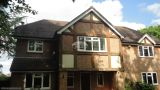 New UPVC fascias soffits and guttering on a mock Tudor property in High Wycombe