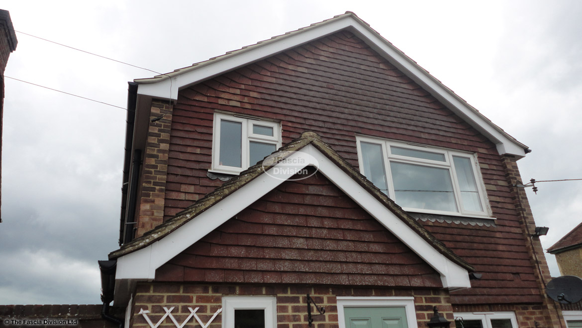 Recent Full Installtion Of Upvc fascias soffits guttering High Wycombe