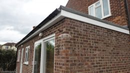 Recent Installation Fascias Soffits Guttering White High Wycombe