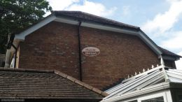 New UPVC fascias, soffits and guttering on a half-hip roof