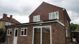 Soffit And Fascia Replacement In Mahogany On A Detached Property In High Wycombe