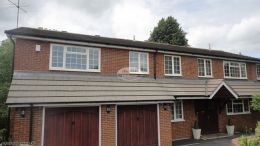Installation of ogee white fascias soffits and guttering Hazlemere High Wycombe