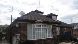 Installation of rosewood fascias soffits and guttering Widmer End High Wycombe