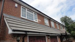 Replacement ogee fascia soffit and guttering Hazlemere High Wycombe