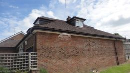 Replacement rosewood fascia soffit and guttering Widmer End High Wycombe