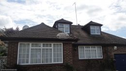 Replacing rosewood fascias soffits and guttering on detached bungalow Widmer End High Wycombe