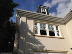 Bespoke 3 tier fascias and soffits with white seamless guttering