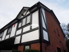 Replacement mock tudor beams with Replica Wood oak beams