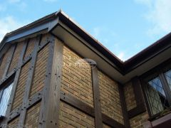 Replica Wood mock tudor beams installation