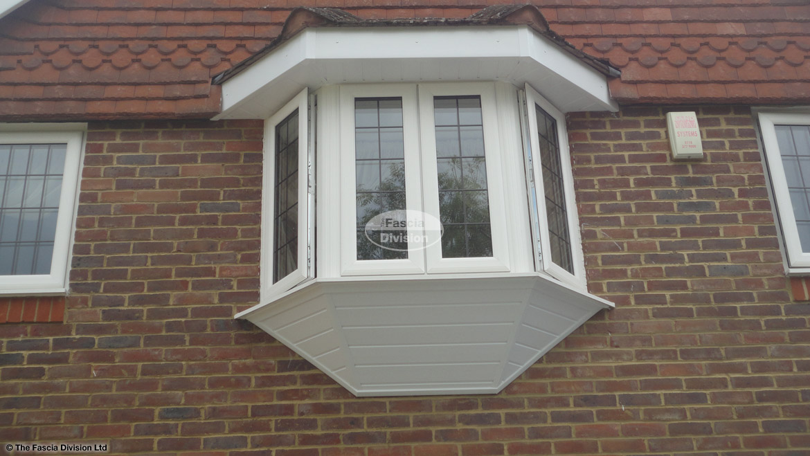 Upvc shiplap cladding installers in jigh wycombe the for Window cladding